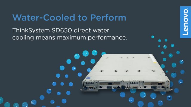 Lenovo's Customer-Driven Cooling Innovations Push New Performance and Energy Efficiency Limits In High Performance Computing