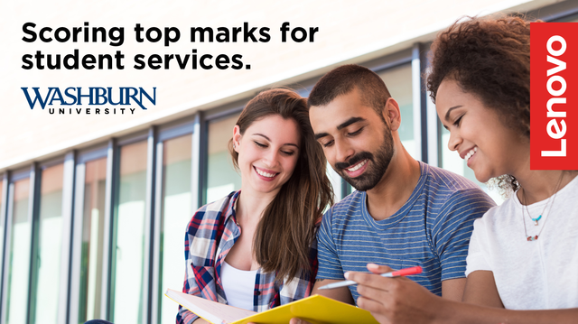 A Better Network Infrastructure Gives Washburn University Students a Better Experience
